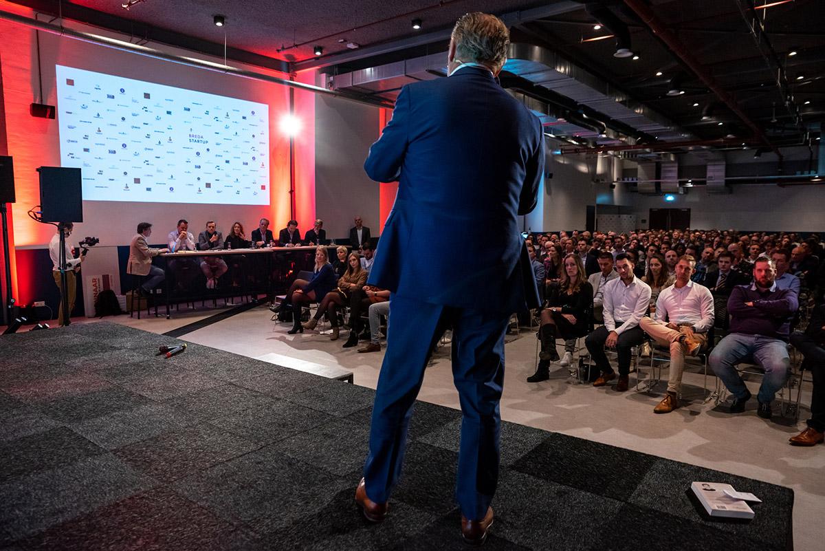 Live pitch door de Awardwinnaar 2019 BioscienZ – Wim de Laat